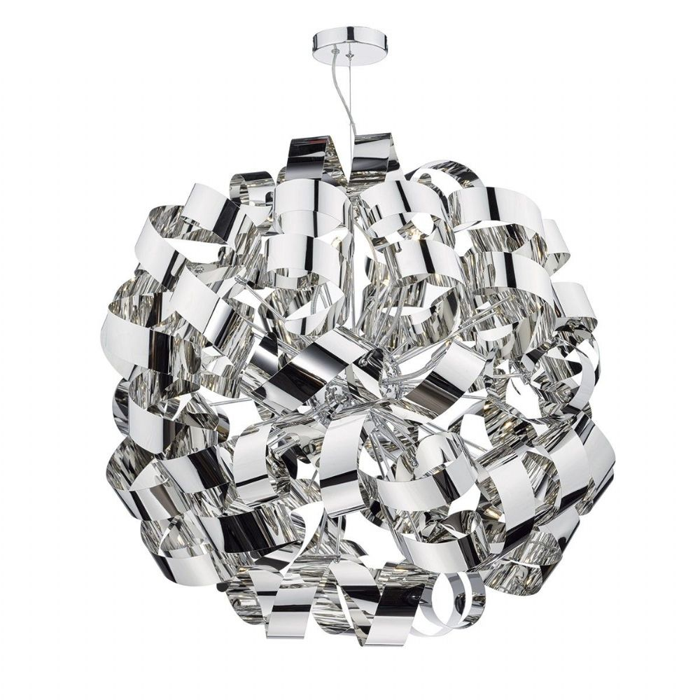 Rawley 12 Light Pendant Polished Chrome RAW1255